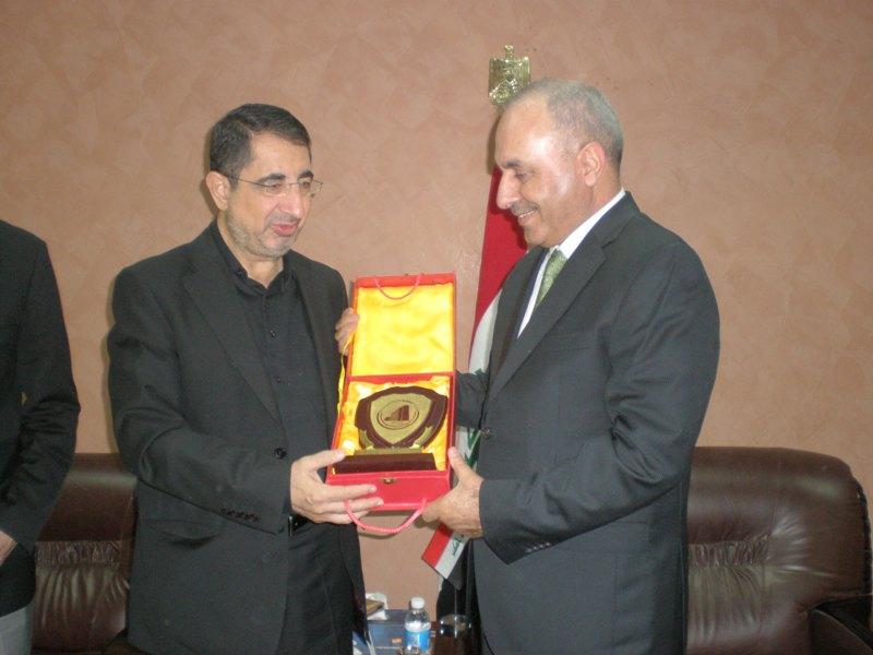 Ending his visit to Iraq, the Minister of Industry demands that the conformity certificates agreement be reactivated