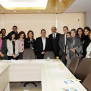 Minister HAjj-Hassan with LIBNOR Team at the Launch of the new Training Center and Website